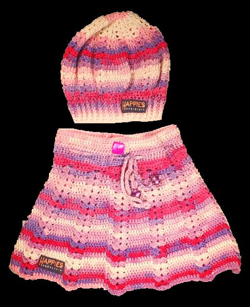 Babydress 2-teilig rosa Töne
