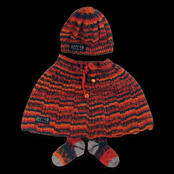 Art.Nr. BD.001 Babydress orangerot